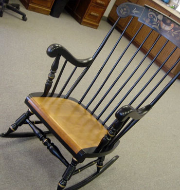 Stupendous G A Rocking Chair Blk Armands Furniture Restoration Gmtry Best Dining Table And Chair Ideas Images Gmtryco
